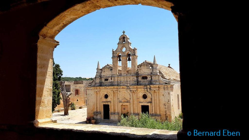 Monastère d'Arkadiou - Crète - Bernard Eben