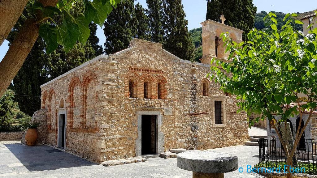 Monastère Kardiotissas - Crète - Bernard Eben