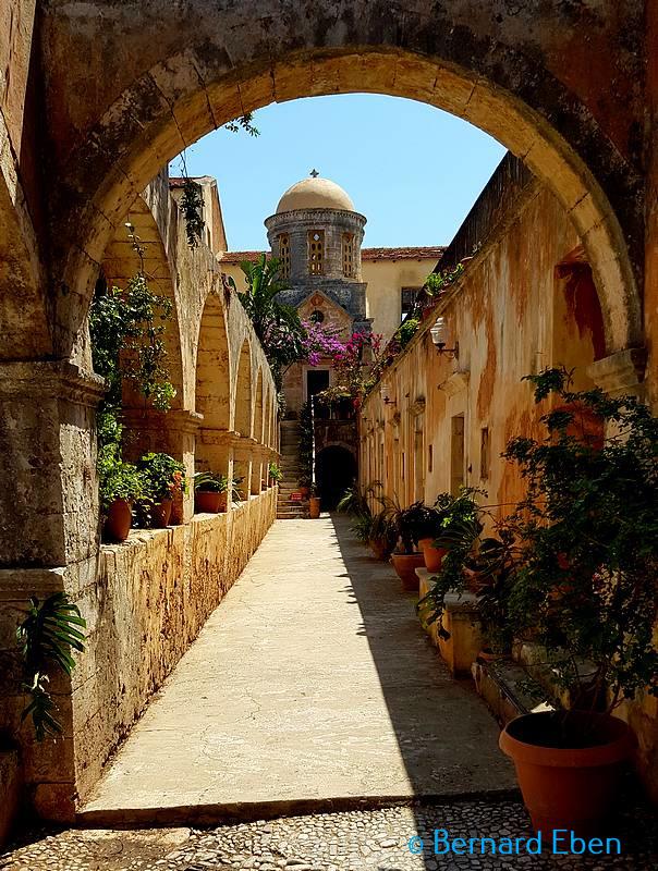 Monastère de Triada - Crète - Bernard Eben