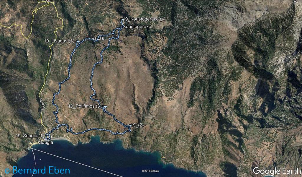 Rando en Crète au départ de Sougia