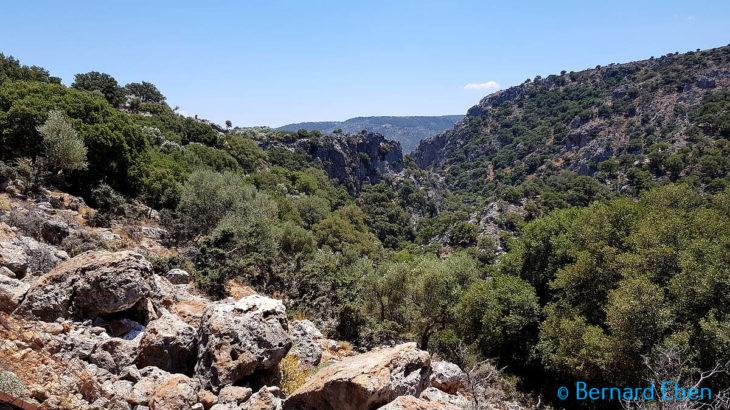 Rando Crète - Les gorges de Deliana